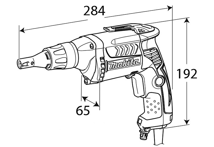 Шуруповерт MAKITA FS4300